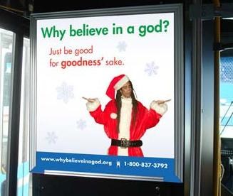 ... Atheists Erected A Billboard That Said: U201cDonu0027t Believe In God? Join The  Club.u201d Last Christmas Atheists Purchased Ads In Vegas That Read, U201cYes  Virginia, ...